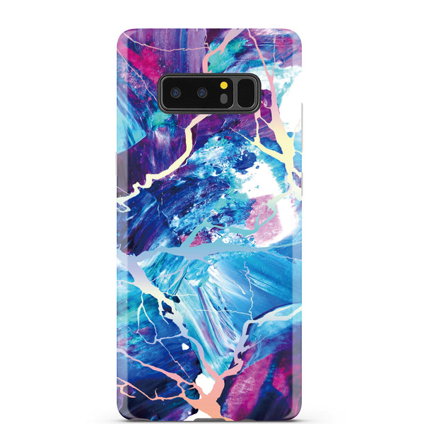 Majestic Holo Marble Samsung Case NOTE 8 - CASES A LA MODE