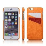 Orange Card Holder Case  - CASES A LA MODE