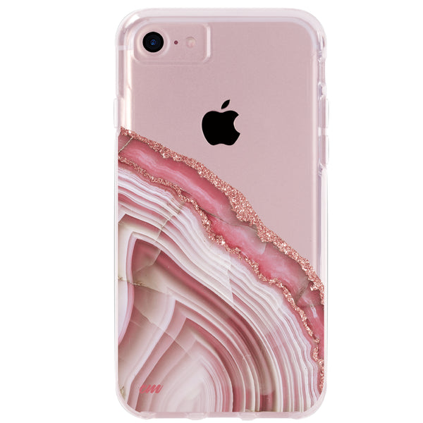 Pink Agate iPhone Case IPHONE 6/S - CASES A LA MODE