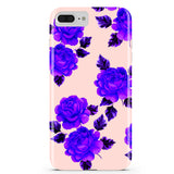 Pink and Purple Flower iPhone Case IPHONE 6/S PLUS - CASES A LA MODE
