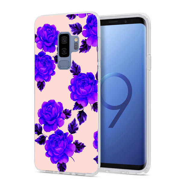 brand new 4ad50 70916 Pink and Purple Flower Samsung Phone Case