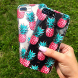 Pink Pineapple iPhone Case  - CASES A LA MODE
