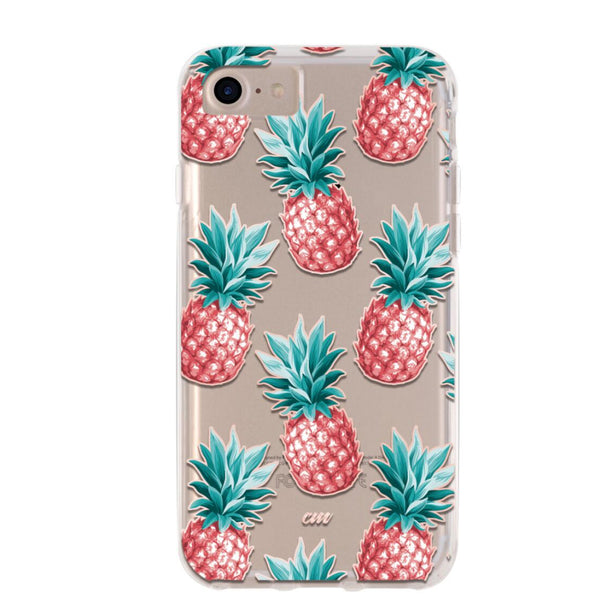 Pink Pineapple iPhone Case IPHONE 6/S- FINAL SALE - CASES A LA MODE