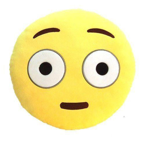 Emoji Pillow Embarrassed Face  - CASES A LA MODE