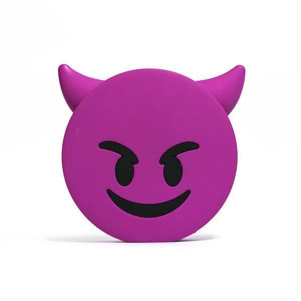 Purple Devil Emoji Portable Charger  - CASES A LA MODE