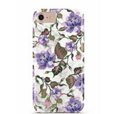 Purple Floral Marble iPhone Case IPHONE 6/S - CASES A LA MODE
