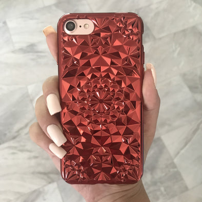 Red Tropix Case  - CASES A LA MODE