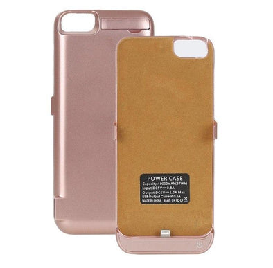 Rose Gold Battery iPhone Case  - CASES A LA MODE