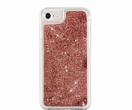 Rose Gold Glitter iPhone Case  - CASES A LA MODE