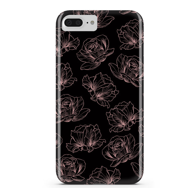 Rose Gold Floral iPhone Case IPHONE 6/S PLUS - CASES A LA MODE