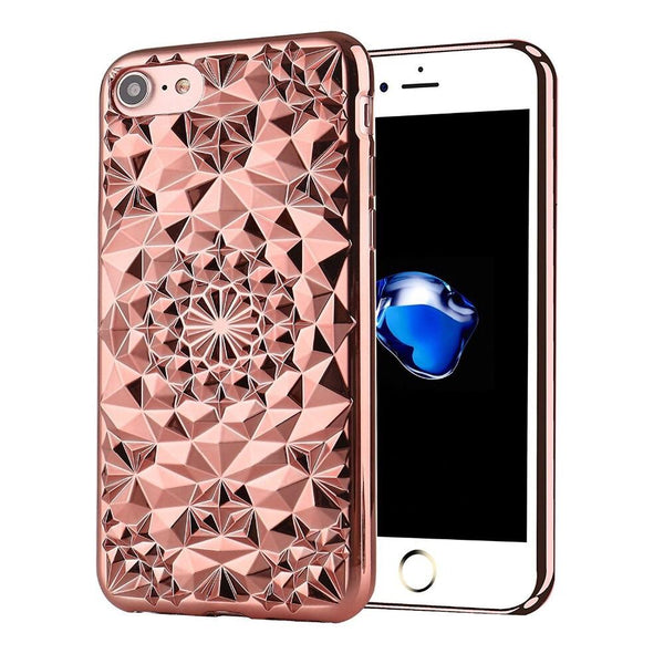 Rose Gold Tropix iPhone Case  - CASES A LA MODE
