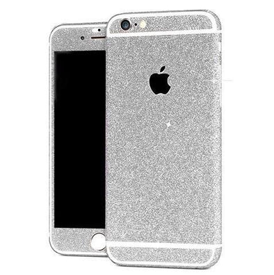 Silver Glitter Decal Sticker  - CASES A LA MODE