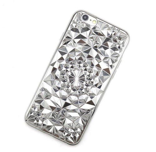 Silver Tropix iPhone Case  - CASES A LA MODE