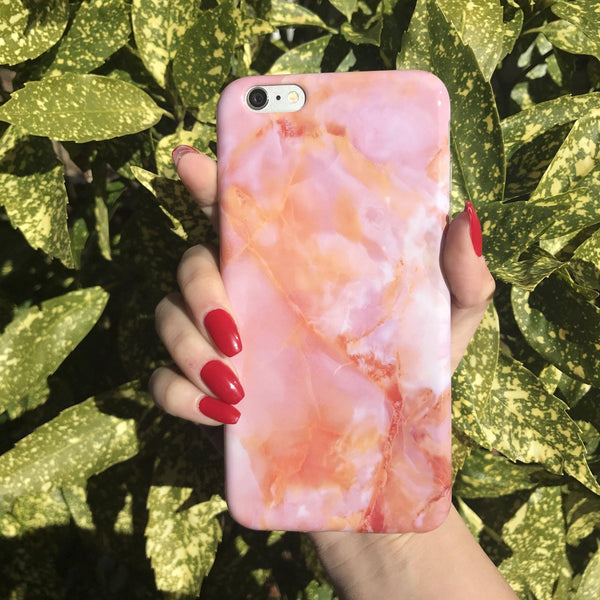 Sunset Marble iPhone Case  - CASES A LA MODE