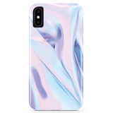 Violet Haze Marble iPhone Case IPHONE X - CASES A LA MODE