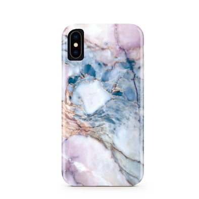 Violet Pastel Marble iPhone Case IPHONE X/XS - CASES A LA MODE
