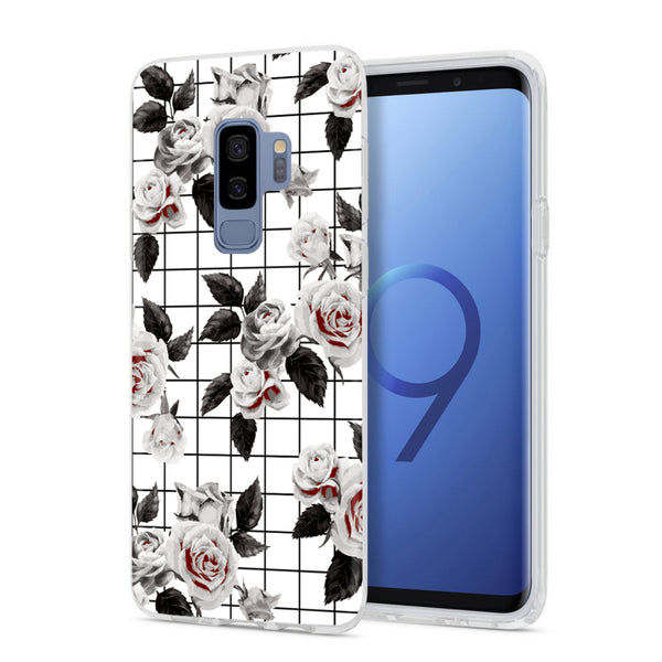 White Vintage Floral Samsung Case GALAXY S9 PLUS - CASES A LA MODE