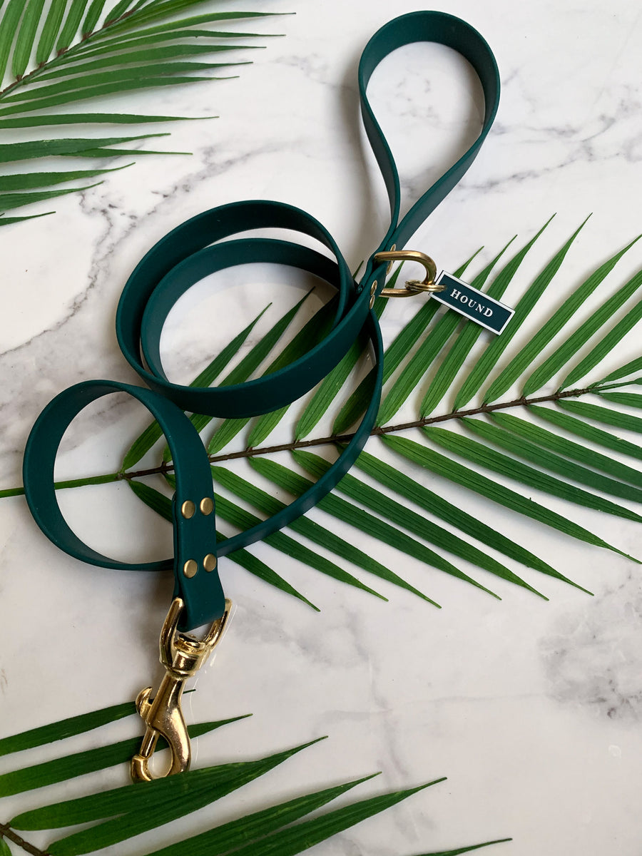 HUNTER GREEN JELLIES LEASH