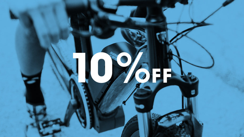 10% off Electric-assist Bikes