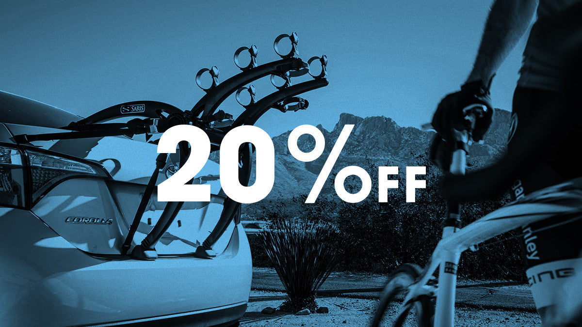 Saris Car Racks on Sale - 20% off