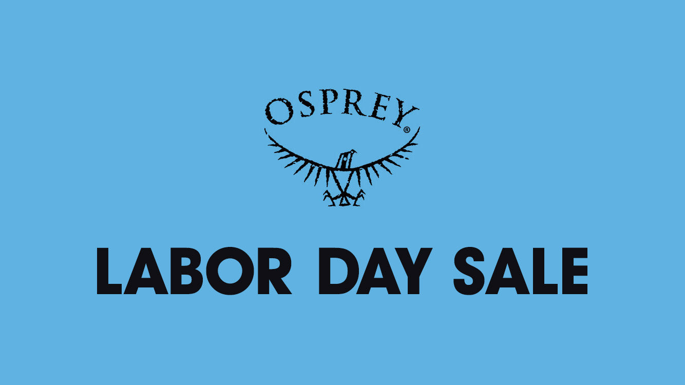 Osprey Labor Day Sale - Save up to 25% off