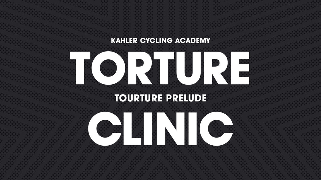 Torture Prelude Cycling Clinic