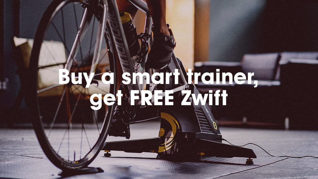 Your Fittest Year Yet! Buy a smart trainer, get FREE Zwift.