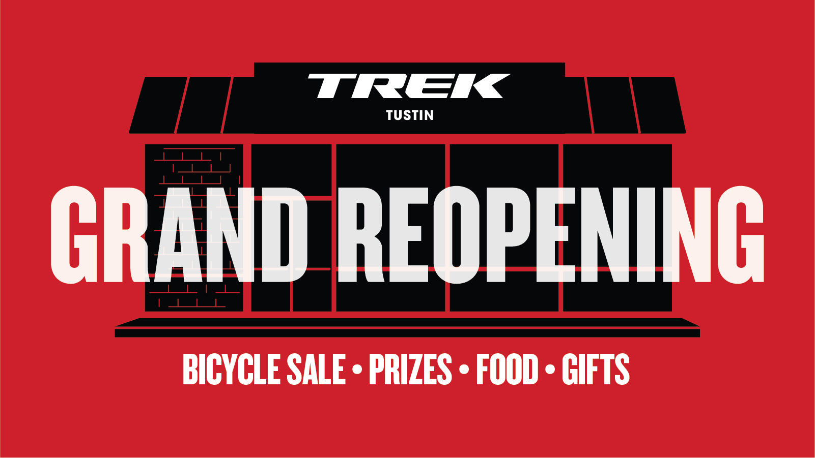 Grand Reopening event this Saturday!