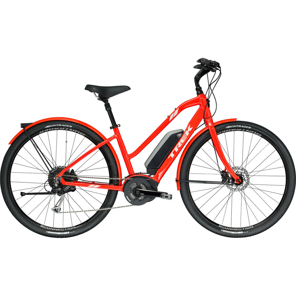 2019 Trek Verve+ Lowstep Coral Red (sizes XS & M)