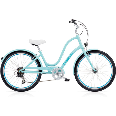 2019 Electra Townie Original 7D EQ Ladies' 26 Polar Blue