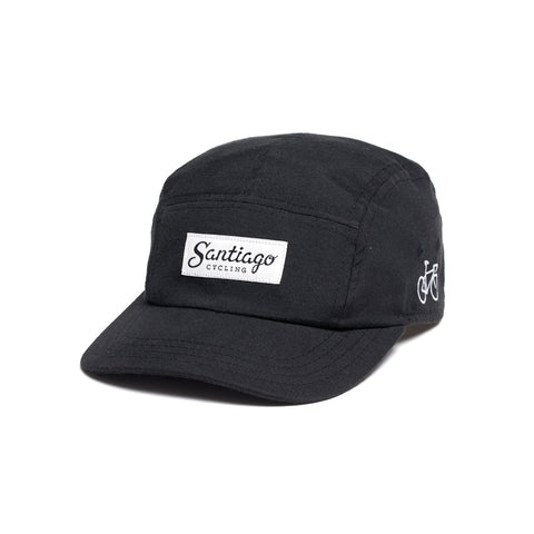 Logo 5-Panel Cap Black