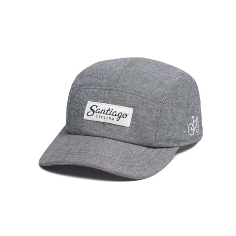 Logo 5-Panel Cap Grey
