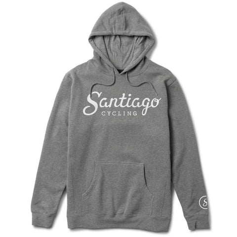 Unisex Logo Pullover Hoodie Heather Grey