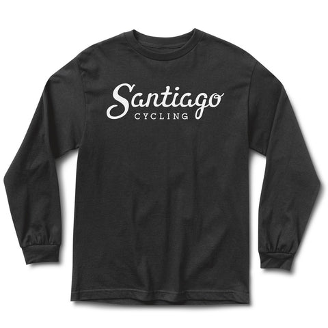 Men's Logo LS Tee Black