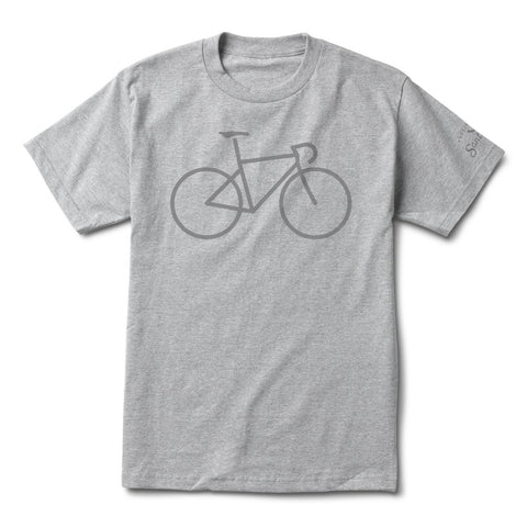 Men's Bike Icon SS Tee Heather Grey