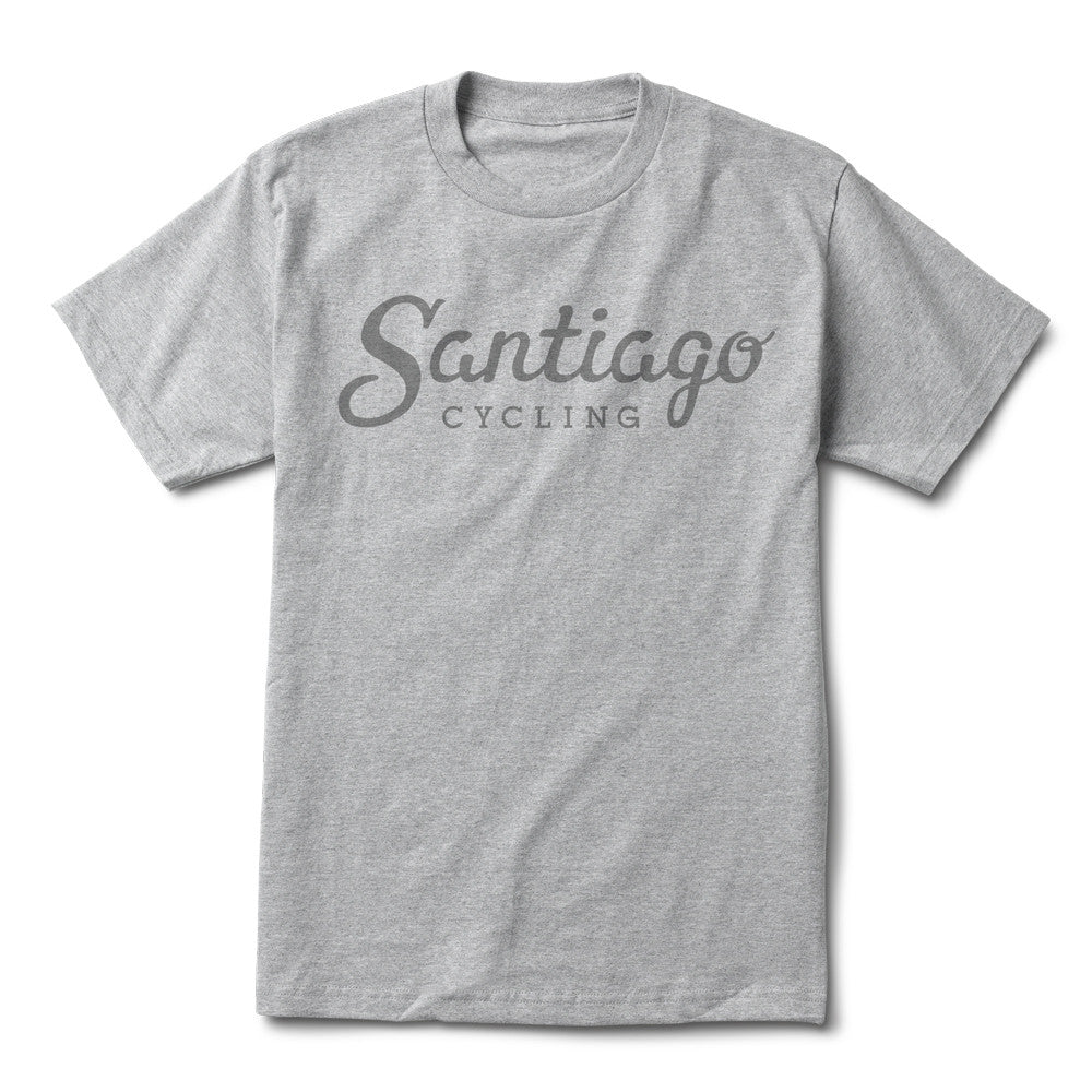 Men's Logo SS Tee Heather Grey