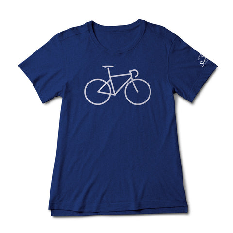 Women's Bike Icon SS Tee Indigo