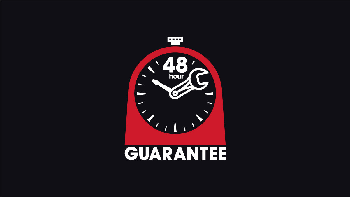 48 hour service guarantee