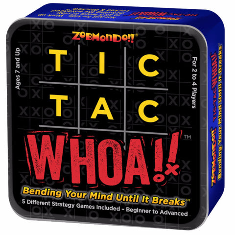 Tic Tac Whoa!! Card Game