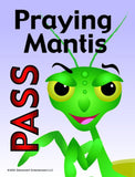 Ladybug Game Praying Mantis Pass card
