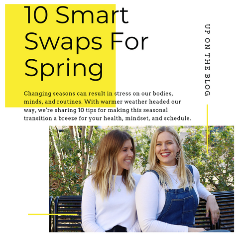 20 Smart Swaps for Spring for Self Care