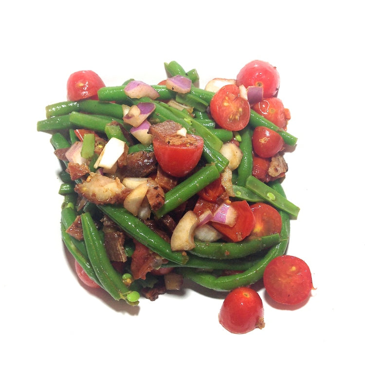 Danika's Balsamic Bacon Green Bean Salad