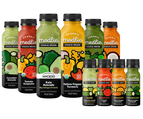 WHOLE30 APPROVED Medlie Veggie drinks at Model Meals