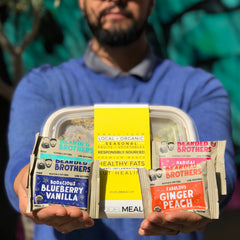 Whole30 compliant Bearded Bros Bars and Model Meals