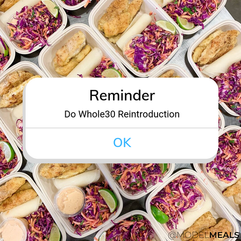 Reintroduction on Whole30 is an important part of the process