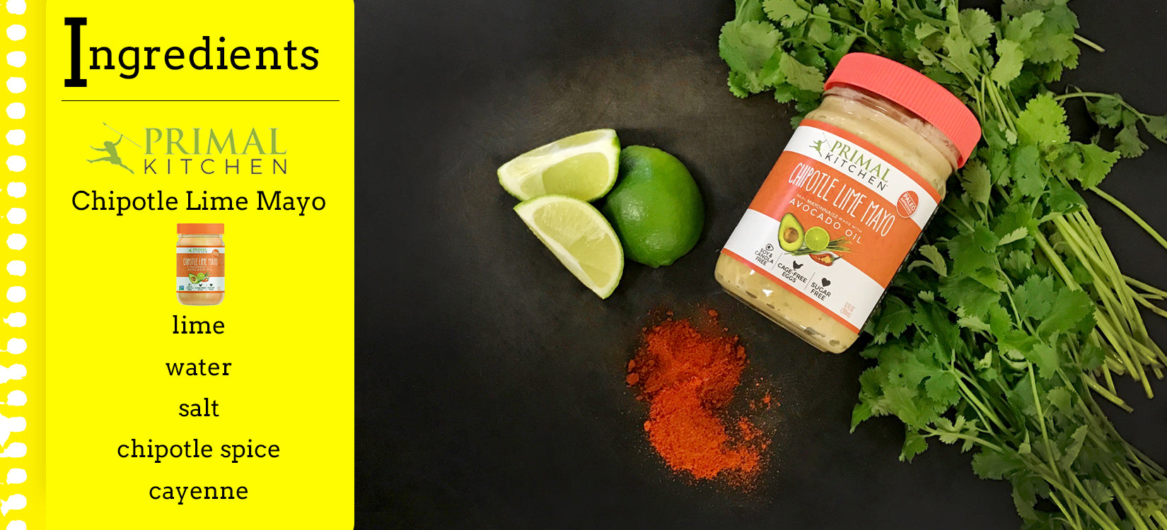 Primal Kitchen Ranch make model meals at home: primal kitchen creamy chipotle lime