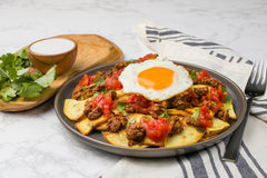 Model Meals Whole30 Paleo Chilaquiles with Chorizo