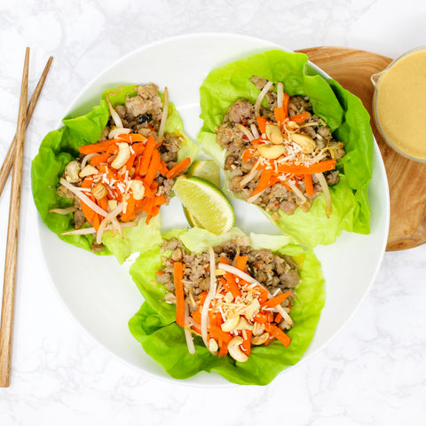MM Whole30 Thai Lettuce Wraps