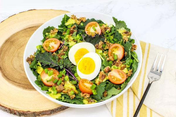 Model Meals | Whole30 Bacon Avocado Salad