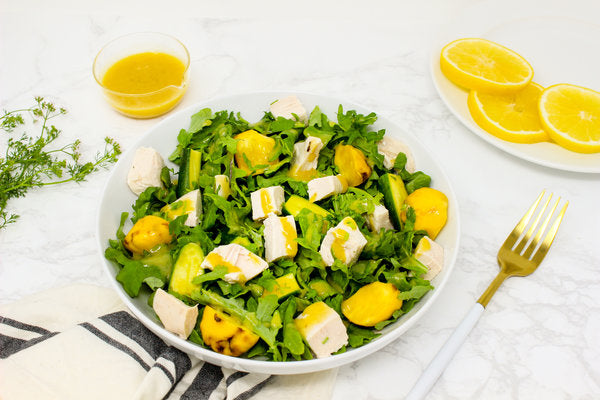 Chicken and Summer Squash Salad with Citrus Vinaigrette